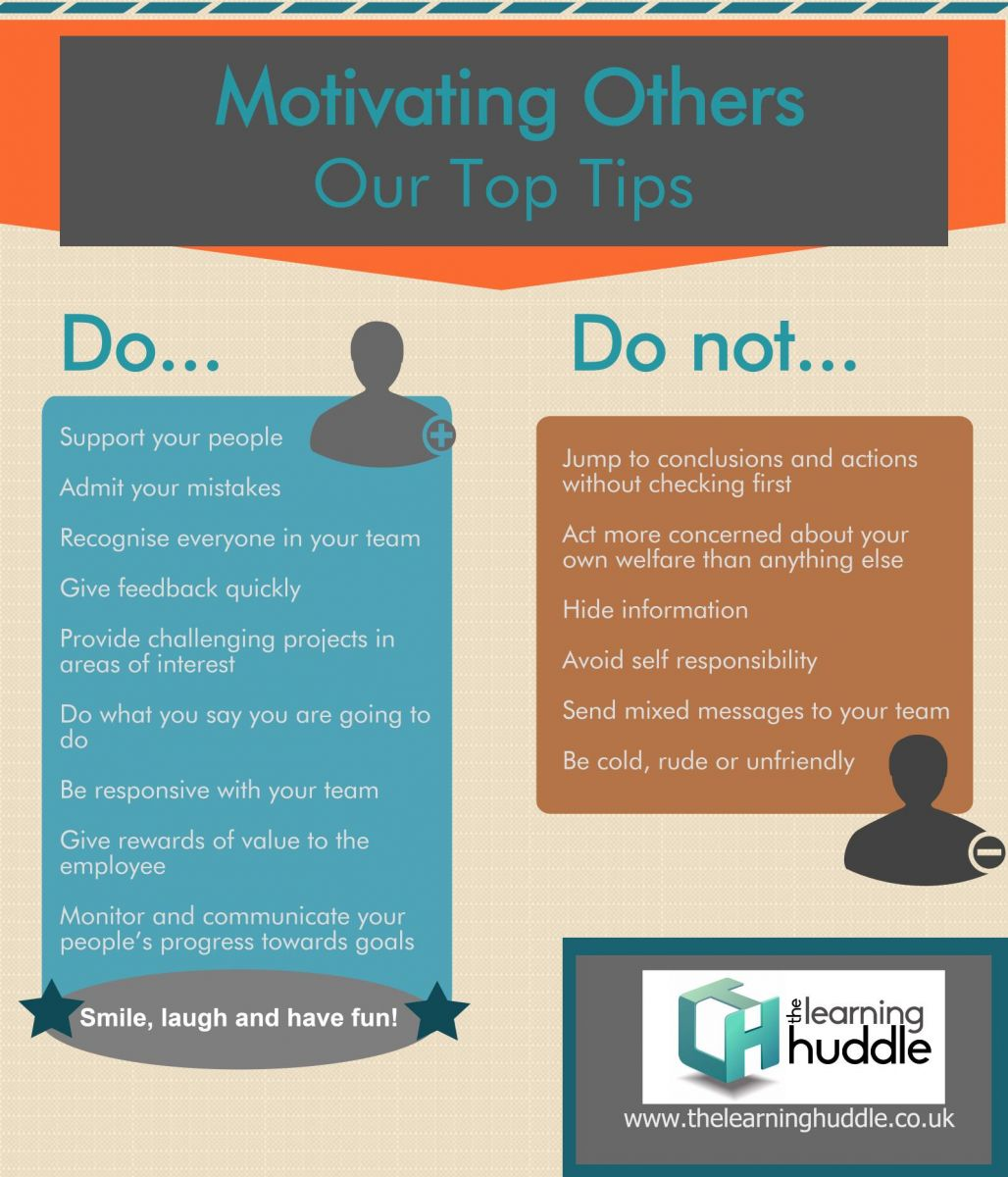 Top tips for motivating your team
